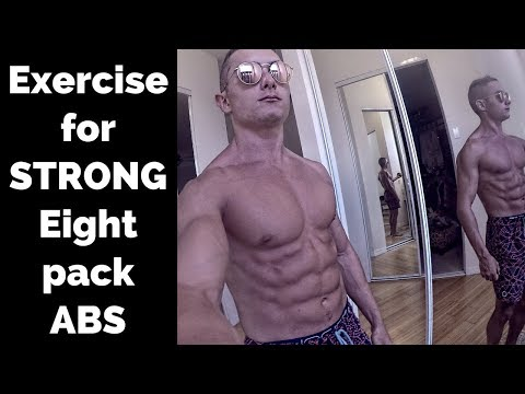 The ULTIMATE Abdominal Building Exercise! STRONG EIGHT PACK ABS