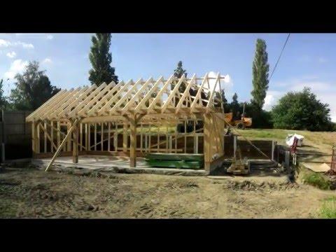 Bespoke Building oak timber framed garage