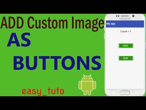 Custom Image Buttons| On Click | Android Studio Tutorial (Beginners) HD | All About Android