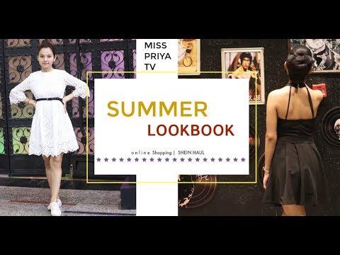 SUMMER LOOKBOOK 2018 | SHEIN Best Outfits For Girls| Miss Priya TV |