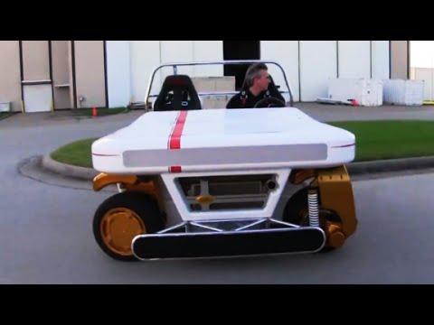 NASA's new car can drive sideways