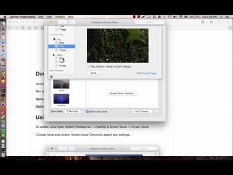 How to make Apple TV Screensaver on Mac OS X