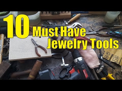 10 Must Have Jewelry Tools. Without these tools I couldn't make any of my work.