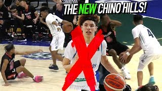 Chino Hills FIRST HOME GAME Without LaMelo! NEW FLOOR! Big Baller Teammates Go AT IT!
