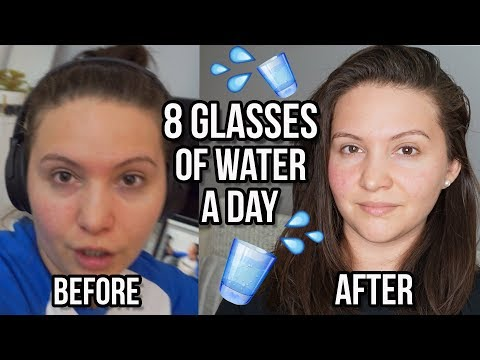 I Drank 8 Glasses Of Water A Day For A Week