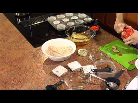 Easy Chewy Granola Bars and Carrot Apple Muffins