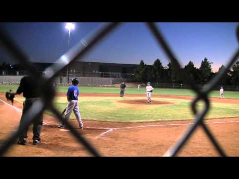 Palo Alto Panthers Baseball vs San Diego Show in Desert Fall Classic 2011 (Part 2 of 2)