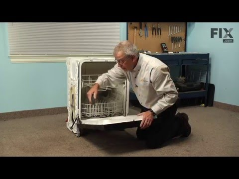 Kenmore Dishwasher Repair – How to replace the Detergent and Rinse Aid Dispenser
