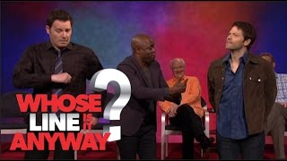 Misha Collins does Russian Folk Dancing - Whose Line Is It Anyway? US