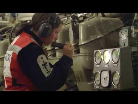 Royal Navy TwoSix.tv Oct 2014: Marine Engineer Pinkerton