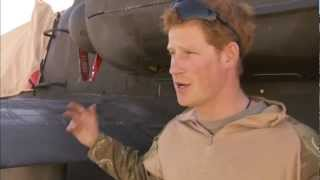 Download Prince Harry interview from Afghanistan | Channel 4 News Video
