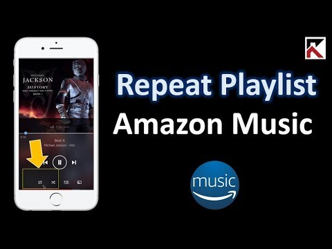 How To Repeat Playlist Amazon Music