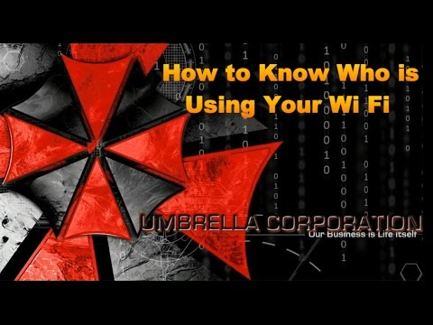 How to know if someone is stealing ur Wi-Fi data(router)