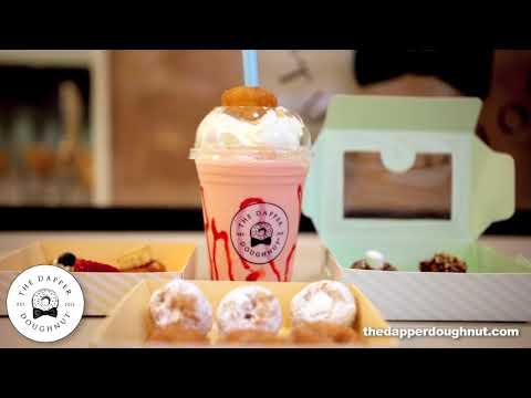 The Dapper Doughnut Strawberry Shake