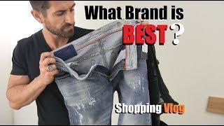 What Brand Of Jeans Is BEST? Denim VLOG (Diesel, AE,  Levis, 7