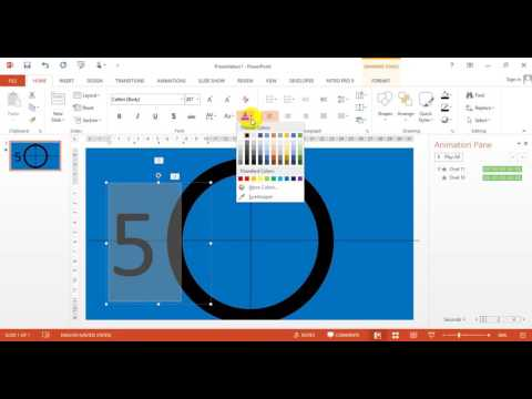 How to make a countdown clock in excel 2010 -