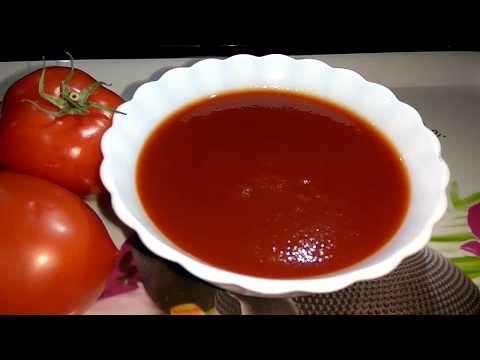 Tomato Sauce Recipe | Tomato Ketchup Recipe in Hindi | Homemade Tomato Sauce