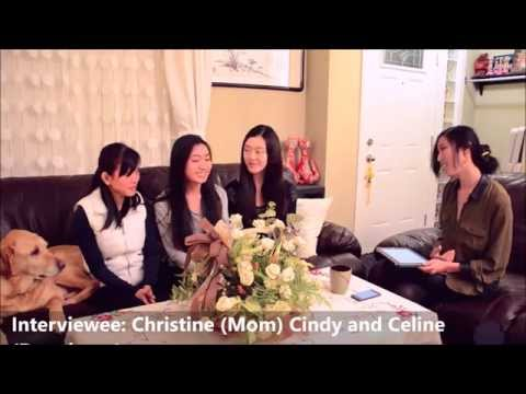 Chinese Immigration familiy in Canada