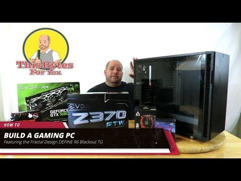 Building a complete PC with the Fractal Design DEFINE R6 Blackout TG: Part 1