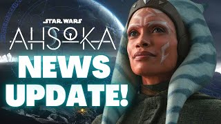 NEW Tease For Ahsoka's Future in Leaked Logo, The Mandalorian Season 3 Set \u0026 More Star Wars News!