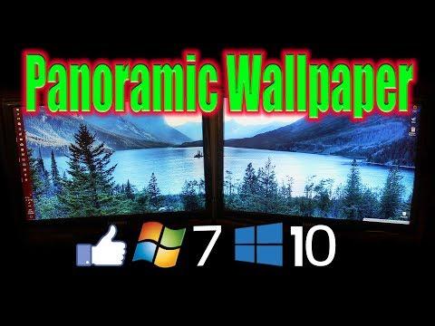 Multi Screen Wallpaper Windows 7, 8, 10