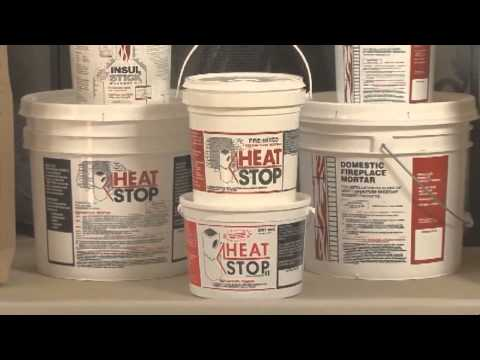 HeatStop Refractory Products for Contractors by BrickWood Ovens