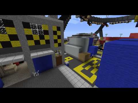 Minecraft Black Ops 2 Cargo map