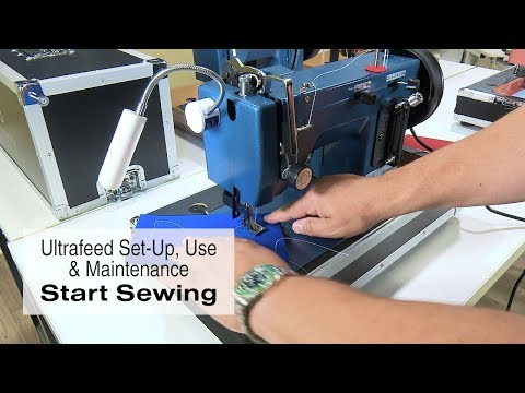 Start Sewing with your New Ultrafeed Sewing Machine
