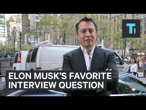 How To Answer Elon Musk's Favorite Job Question