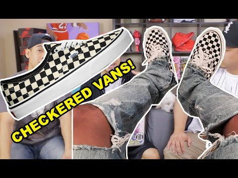 WHERE TO GET THE VANS CHECKERED AUTHENTICS! (HYPETALK TRENDING)