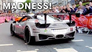 Modball Rally 2017 London supercar MADNESS!