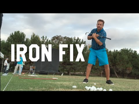 GOLF How to Hit irons long AND straight! Monte | BE BETTER GOLF