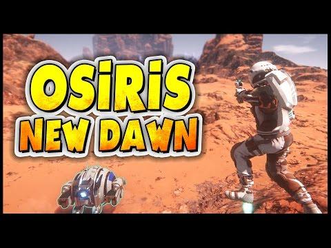 Osiris: New Dawn ➤ Giant Space Monster Snake, Chemistry Table, Rubber Tree [Osiris New Dawn Gameplay