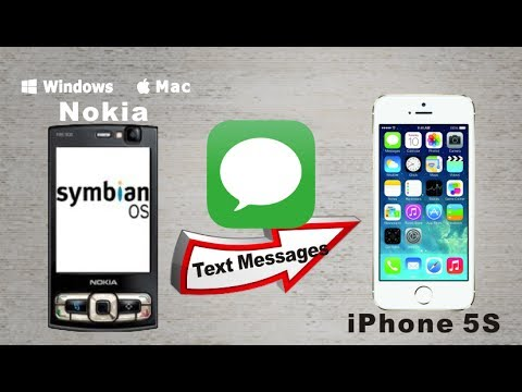 [Symbian to iPhone 5S: SMS Transfer] Copy SMS Text Messages from Symbian to iPhone 5S