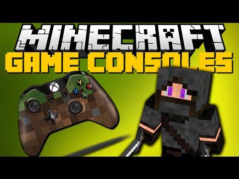 Minecraft: GAME CONSOLES MOD (Xbox One, PS4, Nintendo DS, Sega) Mod Showcase