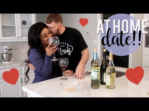 Our Casual At Home Day Date | Wine Tasting + Homemade Pizza!!