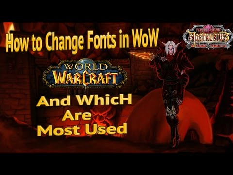 How to Change Fonts in WoW - The Fresh Vanilla Experience