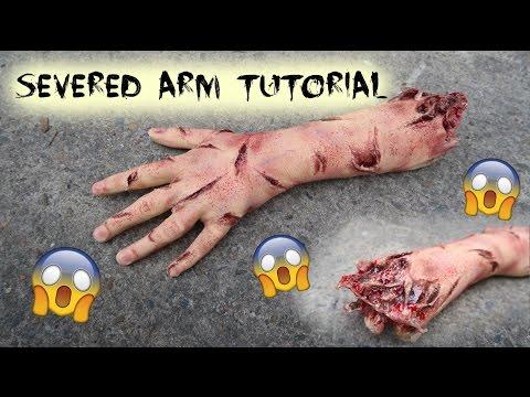 Prosthetic Arm Tutorial | Halloween SFX