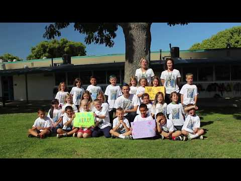 First graders shave heads for a classmate