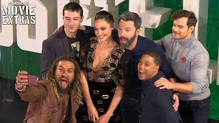Justice League | Complete Press Conference with cast, director and producers