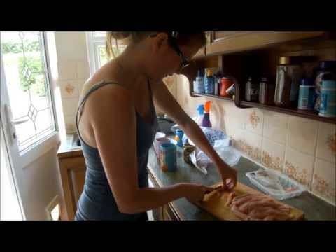 How to make dried chicken treats for dogs!