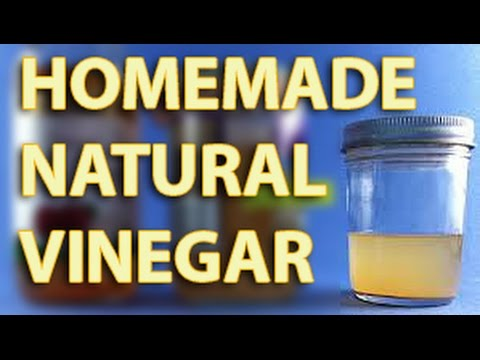 Homemade Natural Vinegar from the Coco wine! Philippines