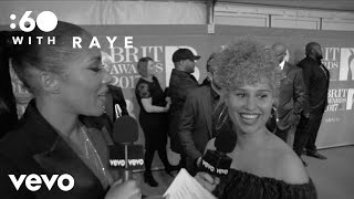 Raye - :60 With - Live from The BRIT Awards 2017 (Vevo UK)