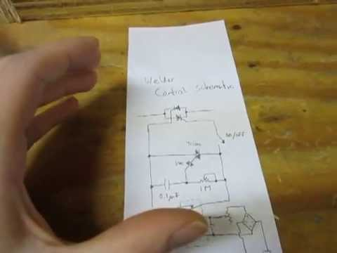$20 Homebuilt DC Welder - Power Control Circuit