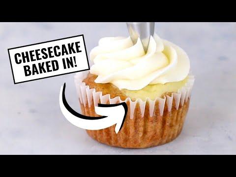 Hummingbird Cheesecake Topped Cupcakes