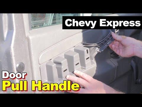 2007 Chevrolet Express Savana Van Door Pull Handle Arm Rest