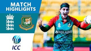 ICC #WT20 England Women vs Bangladesh Women Match Highlights