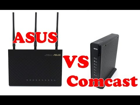 ASUS vs Comcast Increasing my WIFI speed and range - using my iPhone 6 plus