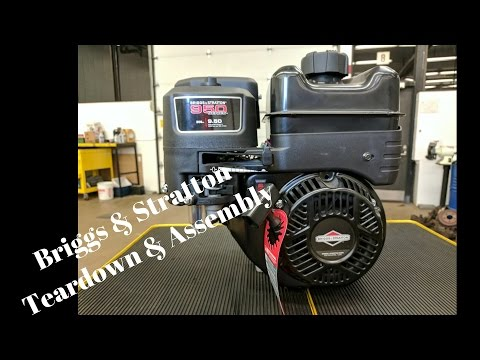 Briggs & Stratton 130G32 OHV Engine Disassembly & Assembly