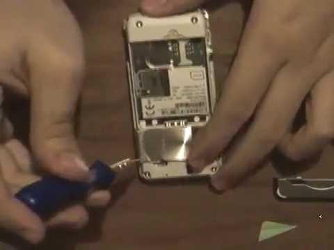 Sony Ericsson K550i Disassembly [ Cambiar carcasa ]